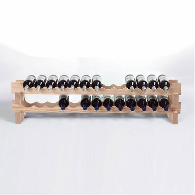 Wine Enthusiast 26 Bottle Tabletop Wine Rack