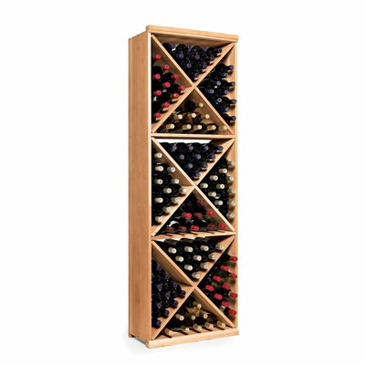 Wine Enthusiast N'finity 132 Bottle Floor Wine Rack