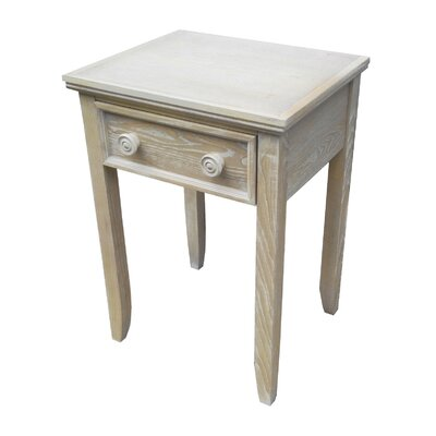 John Boyd Designs Cape May 1 Drawer Nightstand
