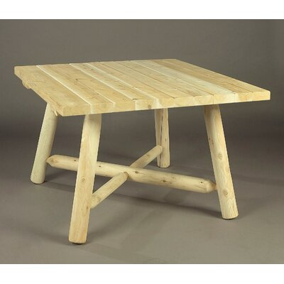 Rustic Natural Cedar Furniture Dining Table