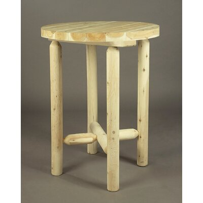 Rustic Natural Cedar Furniture Pub Table
