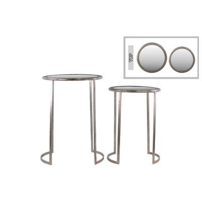 Urban Trends 2 Piece End Table Set