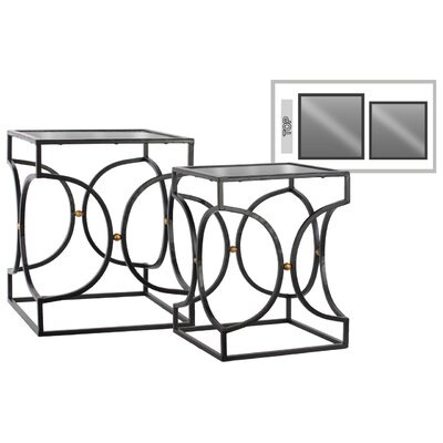 Urban Trends 2 Piece Nesting Tables