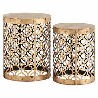 Mercana 2 Piece Winnie End Table Set