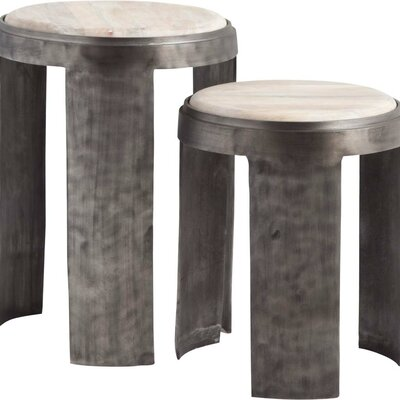 Beachcrest Home Kenwyn End Table (Set of 2)