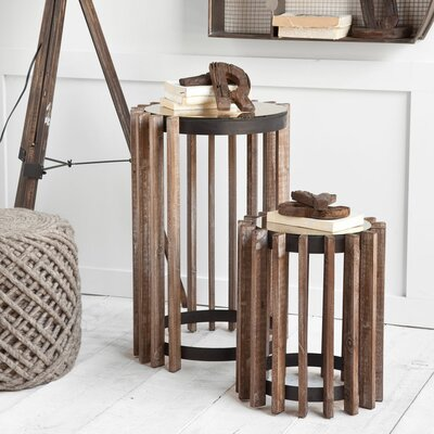 Laurel Foundry Modern Farmhouse Bryony 2 Piece Nesting Tables