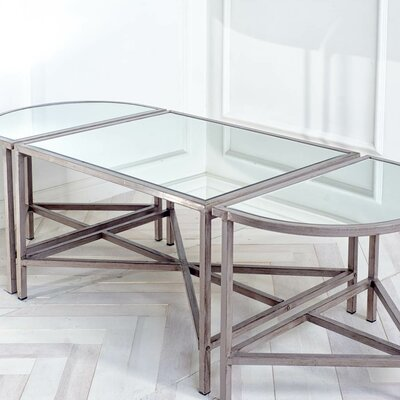 Mercana Caryse 3 Piece Coffee Table Set