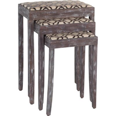 Laurel Foundry Modern Farmhouse Butler 3 Piece Nesting Tables