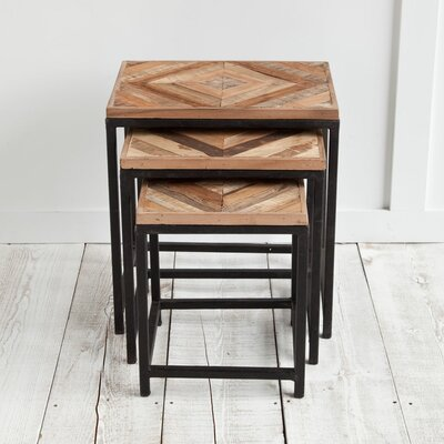 Bungalow Rose 3 Piece Nesting Tables