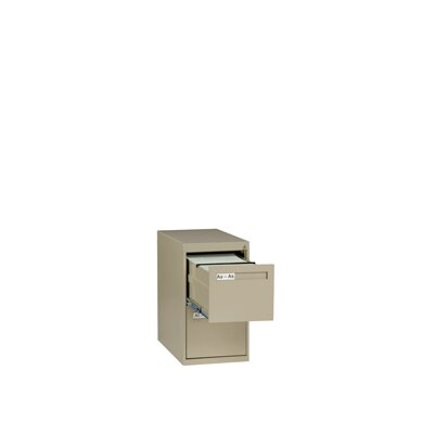 Tennsco Corp. 2 Drawer Vertical Letter File Cabinet