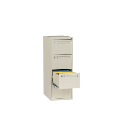 Tennsco Corp. 4 Drawer Vertical Legal Size File Cabinet