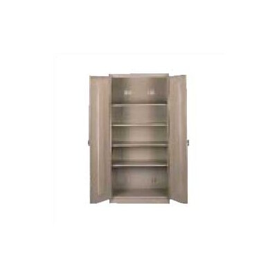 Tennsco Corp. Deluxe 2 Door Storage Cabinet