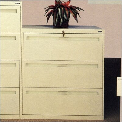 Tennsco Corp. 3-Drawer  File