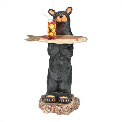 RAM Game Room Bear Waiter Outdoor Table