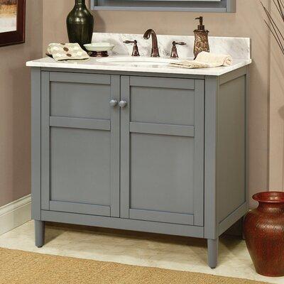 Sagehill harper 36 vanity base reviews wayfair for Sagehill designs bathroom vanity