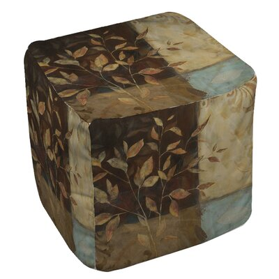 Manual Woodworkers & Weavers Autumn Texture 1 Ottoman