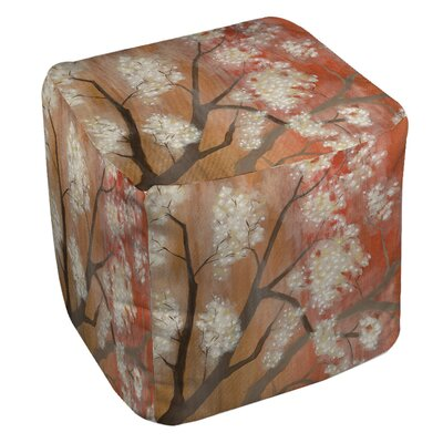Manual Woodworkers & Weavers Mandarin Mist 1 Ottoman