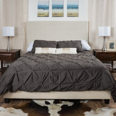 Wade Logan Davie Upholstered Panel Bed