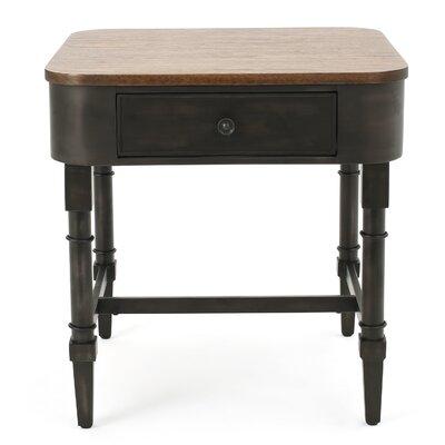 Home Loft Concepts Myrtle Wood End Table