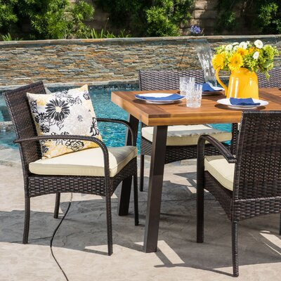 Home Loft Concepts McBride 7 Piece Dining Set