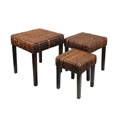 ESSENTIAL DÉCOR & BEYOND, INC 3 Piece Coffee Table Set