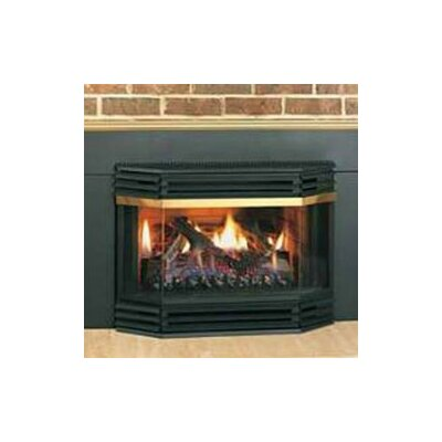 how to open a gas fireplace glass door