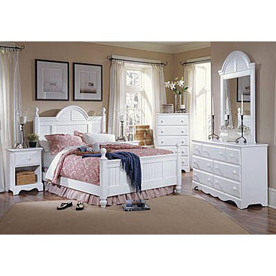 Carolina Furniture Works, Inc. Carolina Cottage Panel Customizable Bedroom Set