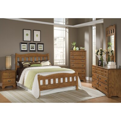 Carolina Furniture Works, Inc. Creek Side Panel Customizable Bedroom Set