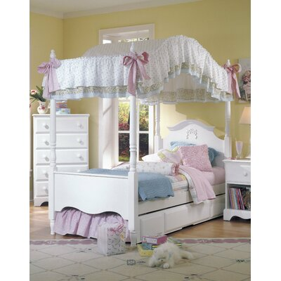 Carolina Furniture Works, Inc. Carolina Cottage Canopy Customizable Bedroom Set