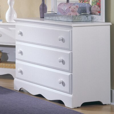 Carolina Furniture Works, Inc. Carolina Cottage 3 Drawer Dresser