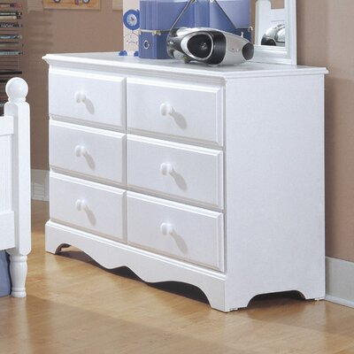Carolina Furniture Works, Inc. Carolina Cottage 6 Drawer Double Dresser