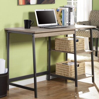 Homestar 2 Piece Laptop Desk and Bookcase Set