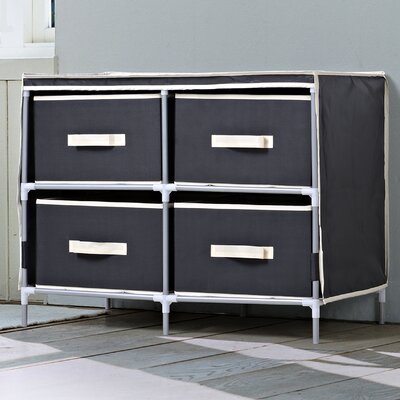 Homestar 4 Drawer Dresser