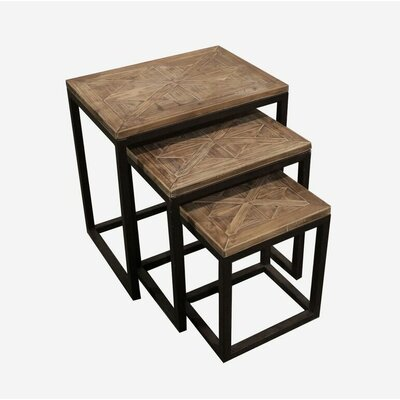 August Grove Rouen 3 Piece Nesting Tables