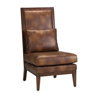 Comfort Pointe Abbott Bonded Leather Parson Chair