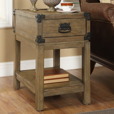Coast to Coast Imports LLC 1 Drawer Chairside Table
