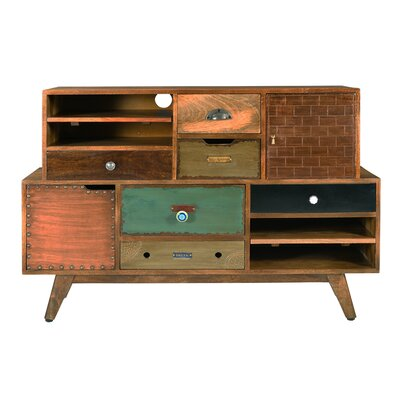 World Menagerie TV Stand