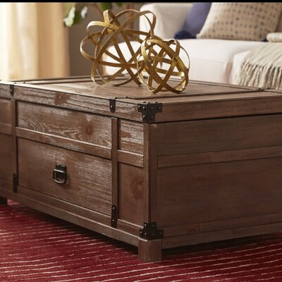 Coast to Coast Imports LLC Treasure Coffee Table with Lift Top