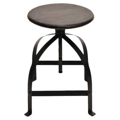 Coast to Coast Imports LLC Adjustable Height Swivel Bar Stool