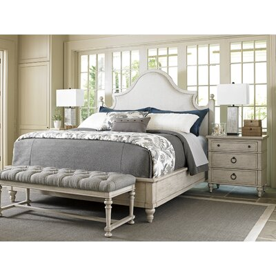 Lexington Oyster Bay Upholstery Platform Customizable Bedroom Set