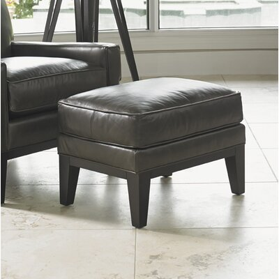 Lexington Giovanni Leather Ottoman