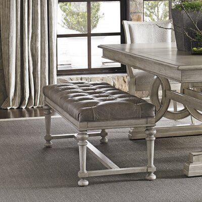 Lexington Oyster Bay Bellport Fabric Tufted Bench