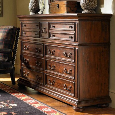 Lexington Fieldale Lodge Prescott 9 Drawer Dresser