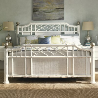 Tommy Bahama Home Ivory Key Panel Bed