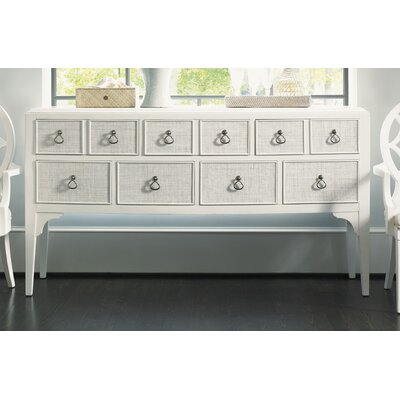 Tommy Bahama Home Ivory Key Spanish Point Sideboard
