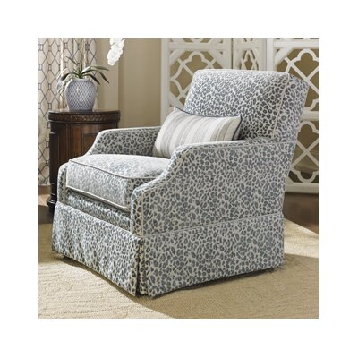 Tommy Bahama Home Bali Hai Courtney Swivel Arm Chair