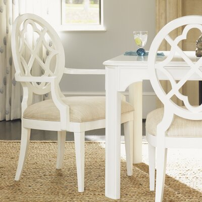 Tommy Bahama Home Ivory Key Arm Chair