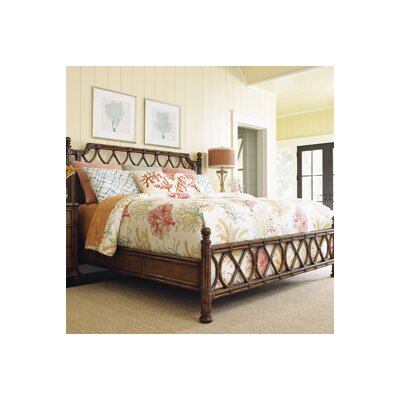 Tommy Bahama Home Bali Hai Panel Bed