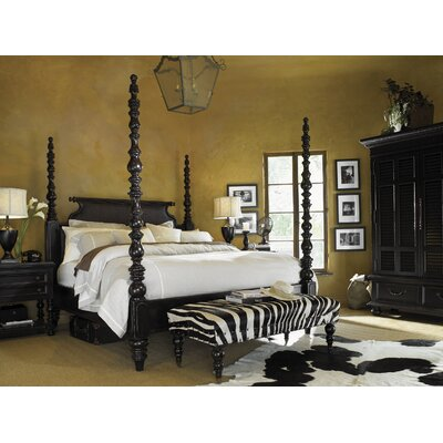 Tommy Bahama Home Kingstown Four Poster Cust..