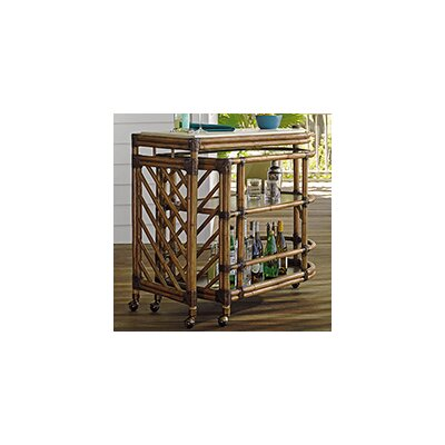 Tommy Bahama Home Twin Palms Serving Cart